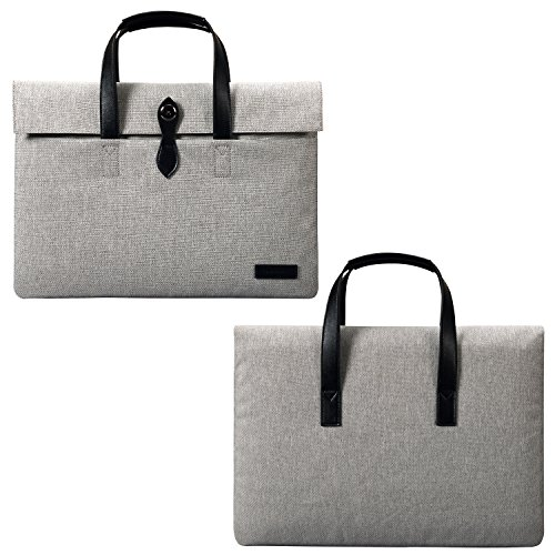 Fashion Frauen Handtasche Laptop Aktentasche Business Office Tasche tragbar Stoff Handtasche für Herren Frauen Sleeve Tasche für 30,5
