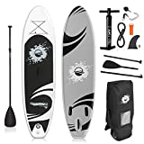 SereneLife Inflatable Stand Up Paddle Bo...