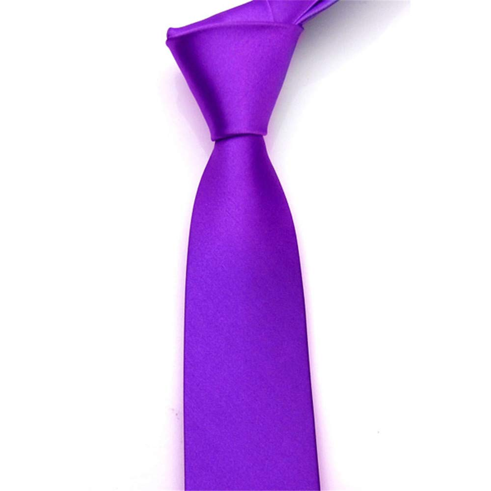 XJIUER corbata Corbata para Hombres Corbata Delgada Corbata de ...