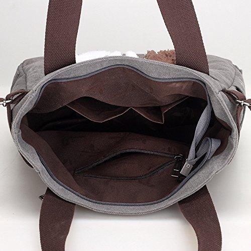 Bolso Simple Linda Lona Del JPFCAK Casual De La Bolso Arte Bolso Salvaje Moda Bolso La Del Gato D De Znww8fxqX