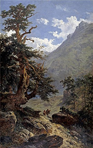 [Oil Painting 'Haes Carlos De La Vereda 1871', 8 x 13 inch / 20 x 32 cm , on High Definition HD canvas prints is for Gifts And Bar, Game Room And Gym Decoration,] (Early Explorer Costume Ideas)