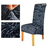Chair Cover XL Size Long Back Europe Style Seat Universal Resterant Hotel Party Banquet Slipcpvers Home Decoration Color 12 XL size