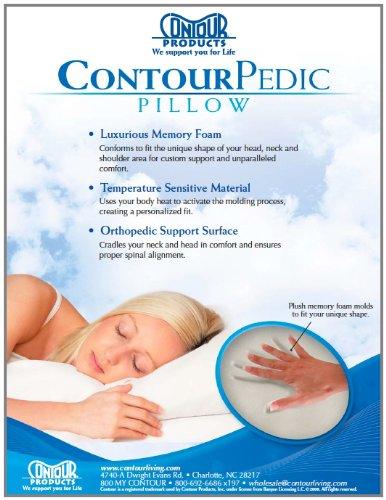 Contour Products Pedic Pillow, Standard