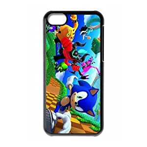 Special Design Cases iPhone 5C Cell Phone Case Black Sonic Lost World Icmof Durable Rubber Cover