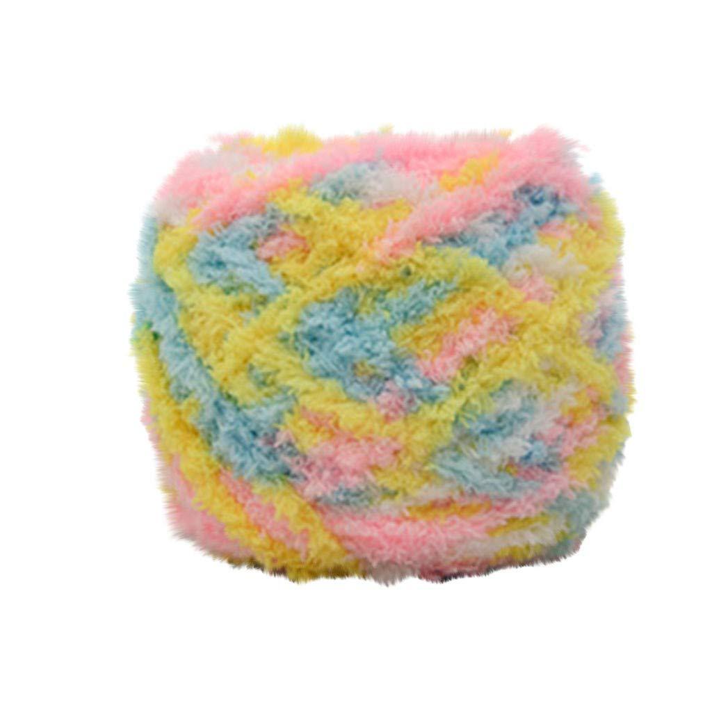 TwoCC-Lana,paquete esencial de bolas de lana suave,vellón coralino ...