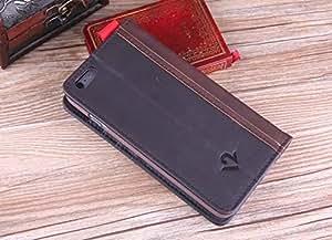 Bible book case Brown Retro Book Design Flip Leather Wallet Case for Apple iPhone 6 Plus
