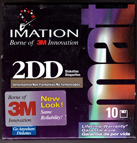 Used, Imation Corp 3.5 DS/DD UFMT DISK 10PK ( 12042 ) (Discontinued for sale  Delivered anywhere in USA