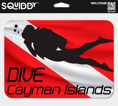 Squiddy Dive Cayman Islands - Vinyl Sticker for Car, Laptop, Notebook (5