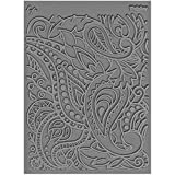 Great Create Lisa Pavelka Individual Texture Stamp 4.25inX5.5in 1/pkg-Paisley