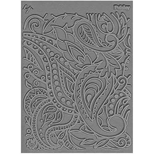 Great Create Lisa Pavelka Individual Texture Stamp 4.25inX5.5in 1/pkg-Paisley by The Great Create