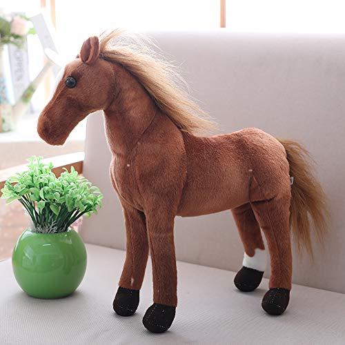Yancyong Frucht-SchWeiß-Hände wärmen Bettkissen, Ananas-Puppe Ferghana horse 30 centimeters