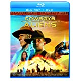Cowboys & Aliens (Extended Edition) (Blu-ray + DVD) (Bilingual)
