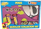 Pog Retro Kaps Ultimate Collector Set Game Includes: 60 Pogs , 4 Exclusive Slammers , 2 Storage Tubes & 1 Deluxe Game Mat