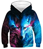 Azuki Wolf Hoodie Youth Boys and Girls