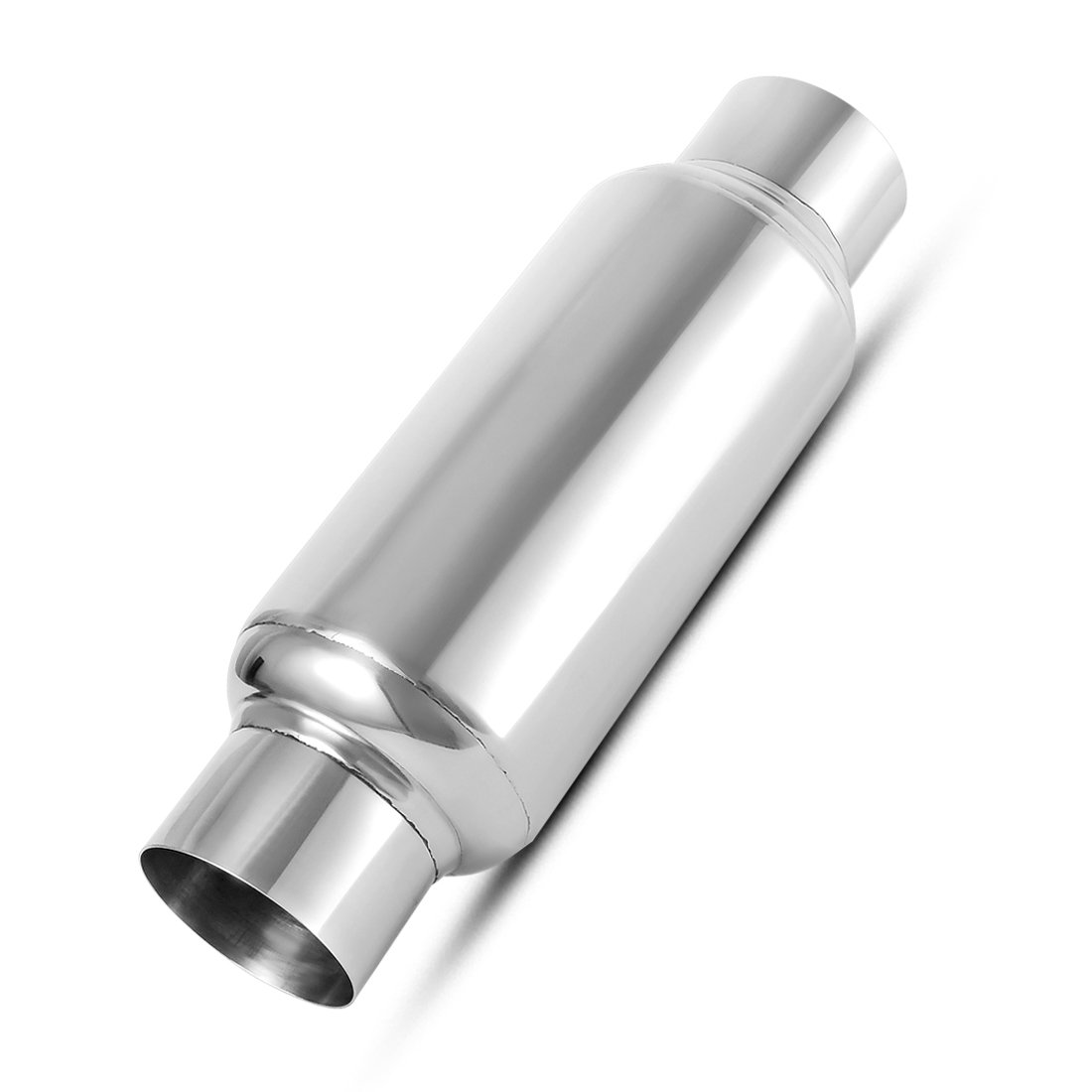"AUTOSAVER88 Stainless Steel High Performance Race Welded 3 Exhaust Muffler for Truck 16 Overall Length Universal Muffler 3/"" Inlet /& 3/"" Outlet"