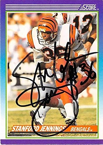 Stanford Jennings autographed football card (Cincinnati Bengals ... 550e3c201