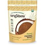 Singabera Sweeteners Organic Coconut Sugar, with Soft Caramel Flavor (1 lbs bag)