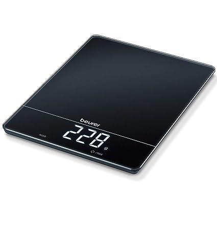 Beurer KS34 - Balanza de cocina (Ha sta 15 kg, con función de tara