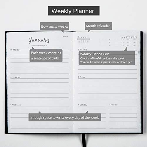 Amazon.com: Agenda diaria 2020 académica semanal y mensual ...