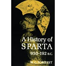 A History of Sparta, 950-192 B. C.