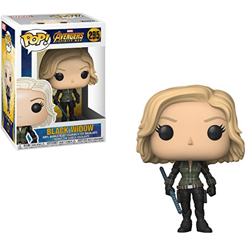 Funko Black Widow POP! Marvel x Avengers - Infinity War Vinyl Figure + 1 Official Marvel Trading Card Bundle [#295]
