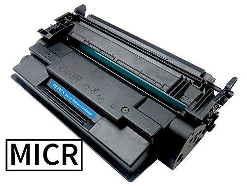 Premium Black Laser Printer MICR Toner Cartridge Magnetic Ink - Replaces HP CF287A 87A - Compatible with HP Enterprise MFP M527 series - LaserJet Enterprise M506 - LaserJet Pro M501dn