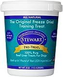 Stewart Freeze Dried Treats 4 oz Beef Liver