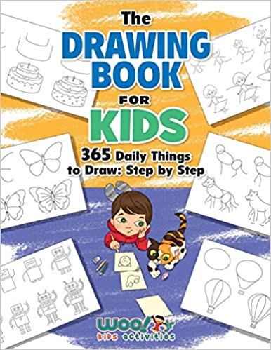 Buy The Drawing Book for Kids: 365 Daily Things to Draw ...