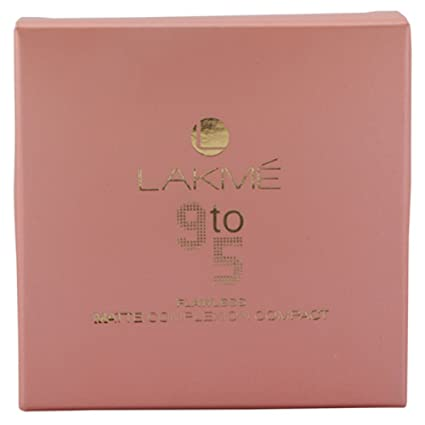 Lakme Flawless Matte Complexion Compact, Apricot Compact Powder at amazon