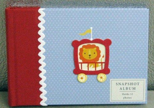 [해외]Hallmark Baby BBA3881 Circus 4 X 6 Slim Snapshopt Photo Album / Hallmark Baby BBA3881 Circus 4 X 6 Slim Snapshopt Photo Album