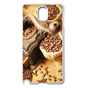 Diy Coffee Bean Phone Case for samsung galaxy note 3 White Shell Phone JFLIFE(TM) [Pattern-2] hjbrhga1544