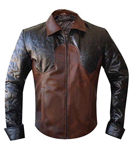 Leatherly Veste Homme Criss Angel Magician Quilted Veste de Cuir