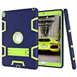 Beimu Case For iPad Pro 10.5'' Case 2017, Full-body Heavy Duty Armor Defender Shock-Absorption Impact Resistant PC+Silicone Case with Built-in Kickstand for Apple iPad Pro 10.5 Inch 2017 Model