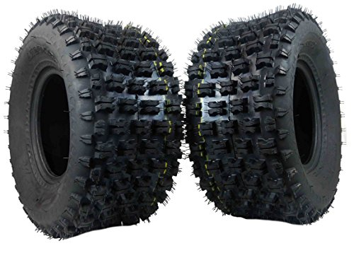 - MASSFX Rear Tire Set (2x) 4ply 20X10-9 ATV Tires 20 11 9 20x10x9 Pair