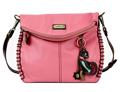 or Metal With and Flap Body Purse Chain Cat Cross Flap Pink Handbag Charming Bag with Chala Zipper Top Shoulder Crossbody aqt77R