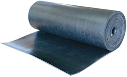 Amazon Com Rubber Cal Nitrile Commercial Grade Black 60a Rubber Sheet Buna Rubber 1 16 Thick X 8 Width X 8 Length 5 Pack Toys Games
