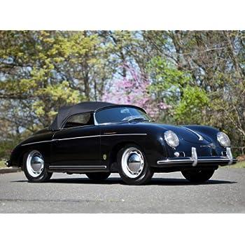 PORSCHE 356 SPEEDSTER VINTAGE CAR POSTER PRINT 24x36 9 MIL PAPER