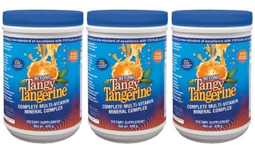 3 Pack Beyond Tangy Tangerine Youngevity Liquid Multivitamin 420g Canisters (Worldwide Shipping) by Youngevity (Image #3)