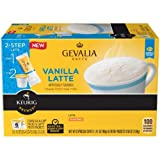 keurig gevalia k cups and froth - Gevalia, 2-Step K-Cup & Froth Packets, 6 Count, 1.41oz  Box (Pack of 3) (Vanilla Latte)