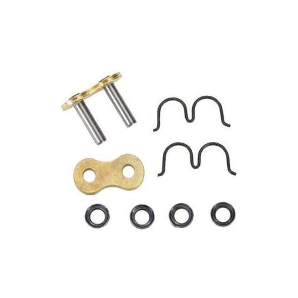 D.I.D Rivet Connecting Link for 525 ZVM-X ZJ Series Chain - Nickel 525ZVM-X NICKEL ZJ RVTLNK 122645