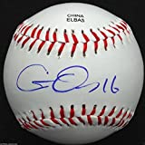 CHRIS OWINGS SIGNED OL BASEBALL ARIZONA DIAMONDBACKS AUTOGRAPHED COA J1