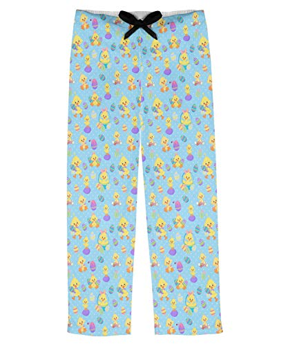 RNK Shops Happy Easter Mens Pajama Pants - S (Personalized) -