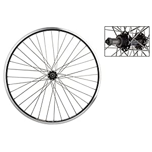"Wheel Master 26"" MTB Rear Wheel Weinmann DM30, 5/6/7 Speed FW, 36H, Black"