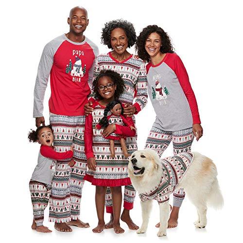 (Christmas Family Pajamas Pjs for Women Men Kids Baby MOY for 90s for Baby Onsie AVO Organizer Miss Bear Pants Dog aoft Set Halk Camper GIS Adult Set Little GIS)