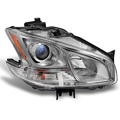 Fits Maxima 4Dr Sedan Projector Halogen Type Passenger Right Side Headlight Head Lamp Replacement ()