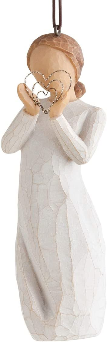 Willow Tree Lots of Love Ornament, Sculpted Hand-Painted Figure