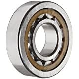 SKF NJ 306 ECP Cylindrical Roller Bearing, Removable Inner Ring, Flanged, High Capacity, Polyamide/Nylon Cage, Metric, 30mm Bore, 72mm OD, 19mm Width, 11000rpm Maximum Rotational Speed, 10800lbf Static Load Capacity, 11500lbf Dynamic Load Capacity