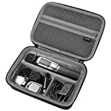 ProCase Hard Travel Case for Philips Norelco Multigroom Series 3000 5000 7000 MG3750 MG5750/49 MG7750/49 Men's Electric Trimmer Shaver and Attachments [Device NOT Included] -Black