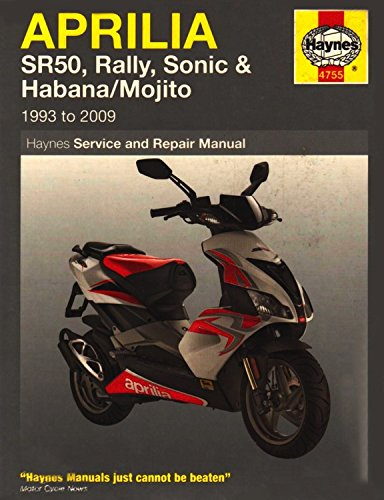 Download Aprilia SR50, Rally, Sonic, Habana & Mojito Scooters, '93-'09 (Haynes Powersport) ebook
