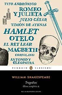 Tragedias par Shakespeare